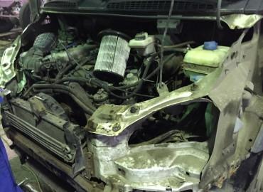 Кузовной ремонт ГАЗели