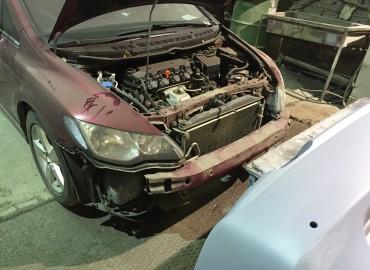 Покраска Honda Civic
